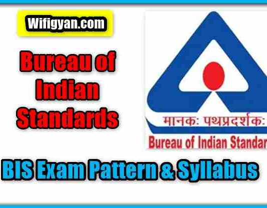 BIS Exam Pattern and Syllabus for Scientist-B Full Information