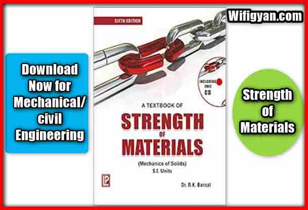 Strength of Materials by Dr.R.K Bansal, Download Free PDF