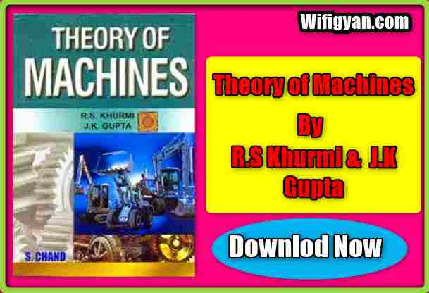 Theory of machines tom rs khurmi pdf file free download fandeluxe Image collections