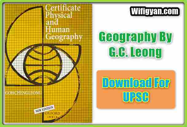 Certificate Physical and Human Geography by G.C. Leong PDF Download