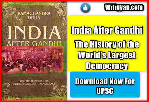 India After Gandhi The History of the World's Largest Democracy Download