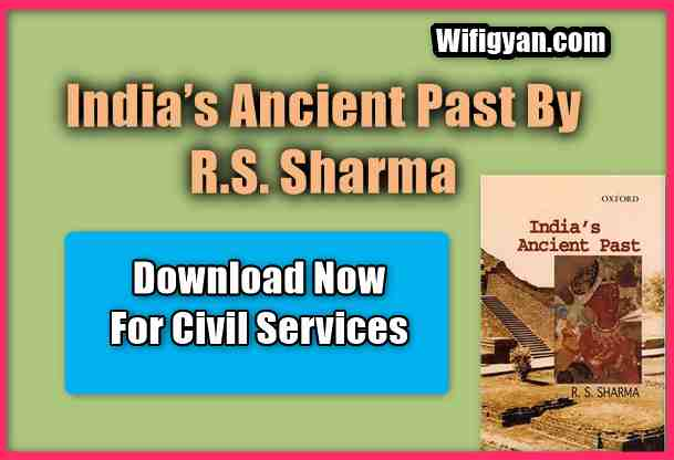 India's Ancient Past by R.S. Sharma PDF Download