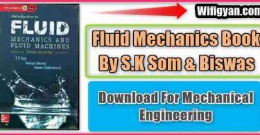 Fluid Mechanics SK Som and Biswas Pdf Download