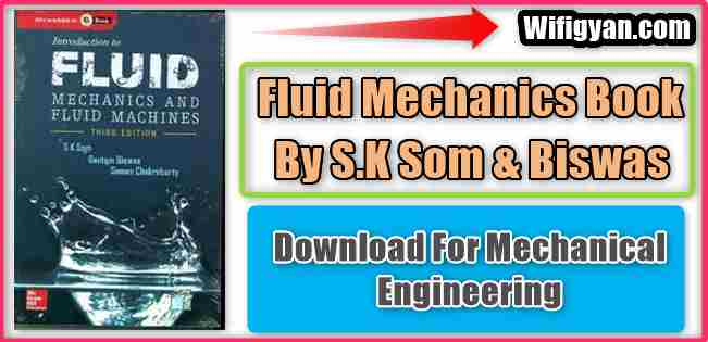 Fluid Mechanics SK Som and Biswas Pdf Download