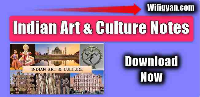 Indian Art and Culture Notes By Vision IAS, Download Pdf