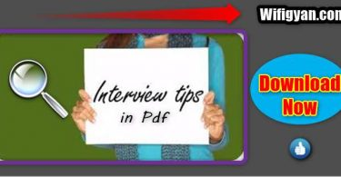 Important Job Interview Tips and Skills Pdf Download