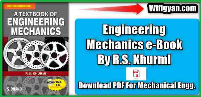 RS Khurmi Engineering Mechanics eBook PDF Download