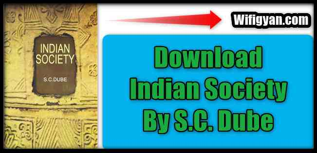 SC Dube Indian Society Free Pdf Download For UPSC Exams