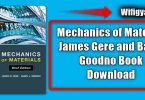 Mechanics of Material James Gere and Barry Goodno Book Download