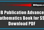 MB Publication Advanced Mathematics Book for SSC Download PDF
