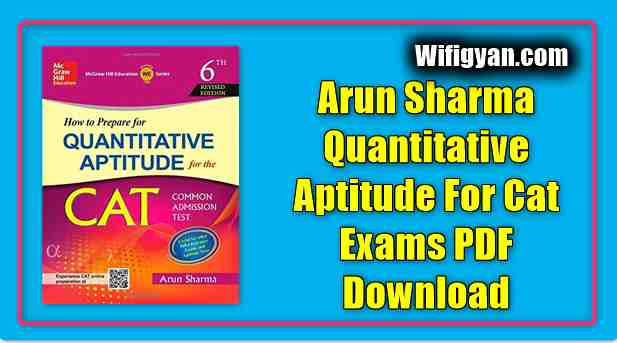 Arun Sharma Quantitative Aptitude For Cat Exams