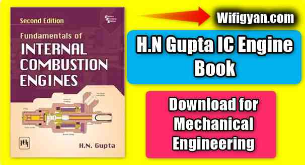 H N Gupta IC Engine Book Download for Mechanical Engineering