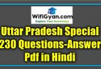 Uttar Pradesh Special Questions Answer Pdf Uttar Pradesh Special Questions Answer Pdf