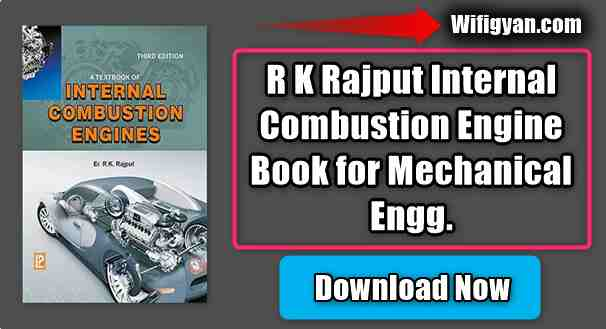 R K Rajput Internal Combustion Engine Book for Mechanical Engg.
