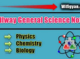 Railway General Science Notes