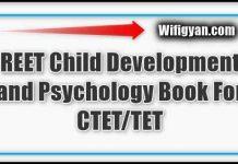 REET Child Development and Psychology Book