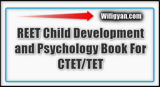 REET Child Development and Psychology Book