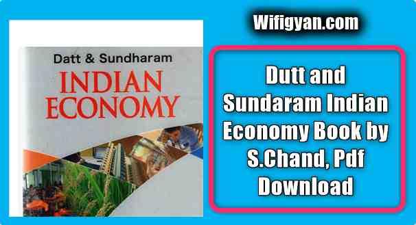Dutt and Sundaram Indian Economy Book