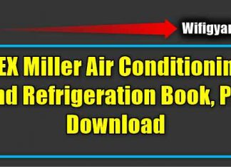 REX Miller Air Conditioning and Refrigeration Book, Pdf Download