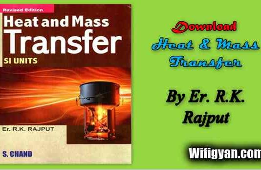 R.K. Rajput Heat and Mass Transfer Pdf Download for Mechanical Engineering
