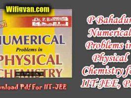 P Bahadur Numerical Problems in Physical Chemistry