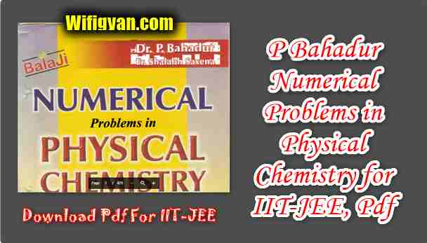 P Bahadur Numerical Problems in Physical Chemistry
