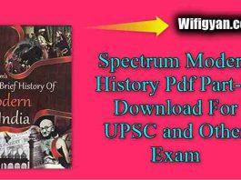Spectrum Modern History Pdf Part-II