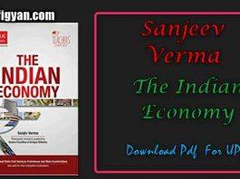 Sanjeev Verma Indian Economy Pdf Download For UPSC