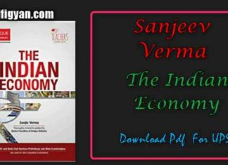 Sanjeev Verma Indian Economy Pdf Download For UPSC