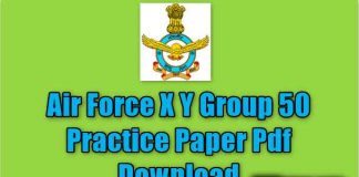 Air Force X Y Group 50 Practice Paper Pdf Download Air Force X Y Group 50 Practice Paper Pdf Download