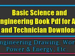 Basic Science and Engineering Book Pdf for ALP