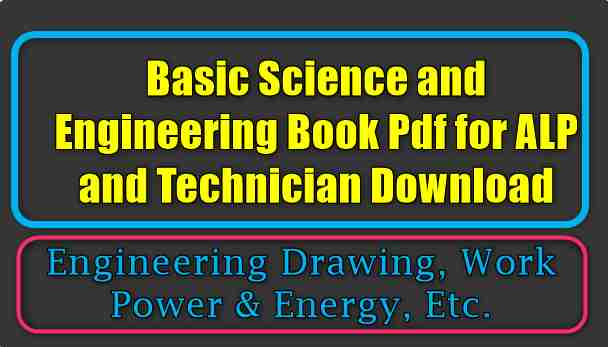 Basic Science And Engineering Book Pdf For Alp And Technician