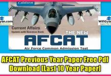 AFCAT Previous Year Paper Free Pdf Download [Last 10 Year Paper]AFCAT Previous Year Paper Free Pdf Download [Last 10 Year Paper]