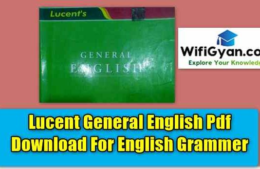 Lucent General English Pdf Download For English Grammer