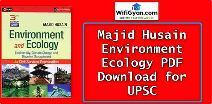 Majid Husain Environment Ecology PDF Download for UPSC