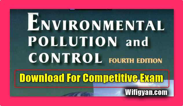 Environmental Pollution and Control Book Download For Competitive Exam