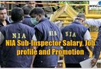NIA Sub-Inspector Salary, Job profile and Promotion