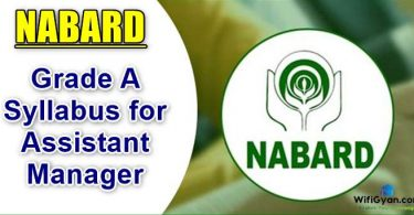 NABARD Grade A Syllabus for Assistant Manager