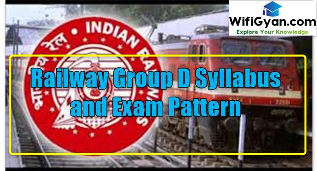 Railway Group D Syllabus and Exam Pattern