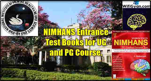 Nimhans Entrance Test Books For Ug And Pg Course