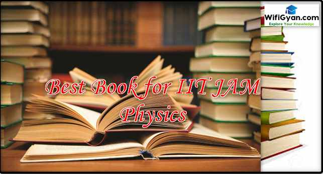Best Book for IIT JAM Physics