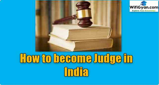 How to become Judge in India