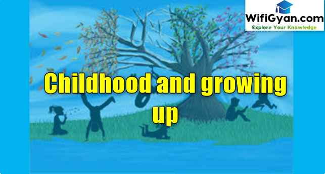 Childhood and Growing up Pdf Download for B.ed in Hindi and English